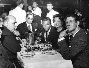 Robinson y Luis Folledo, en una gala en Paris.