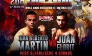 Juan Alberto vs Juan Florit