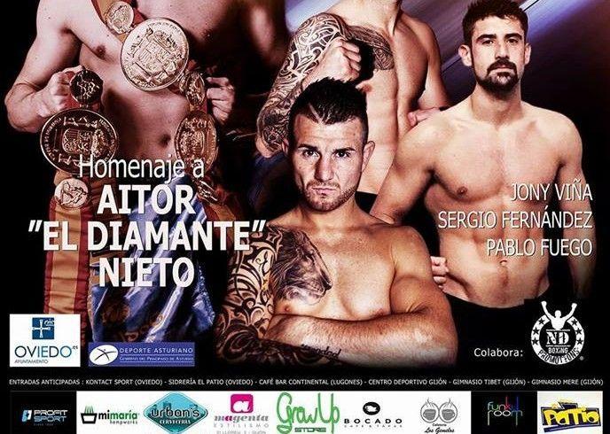 Oviedo homenaje a Aitor Nieto.
