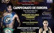 cartel BOXEO Palacio VISTALEGRE 05 05 17 Campeonatos de Europa