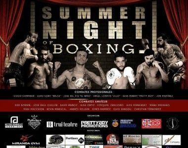 "Recta final para ""Summer Night of Boxing"""