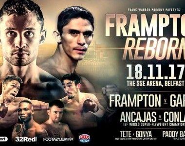 "Carl Frampton regresa hoy en ""Reborn"""