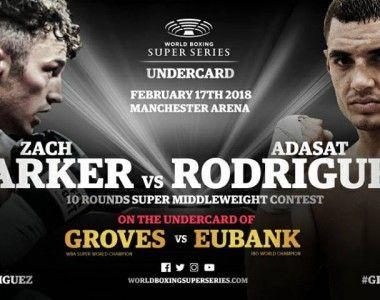 """Zach Parker vs Adasat """"El Toro"""" Rojas – La pelea"""