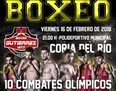 Boxeo Gutierrez, presenta una gran noche de boxeo en Coria del Río