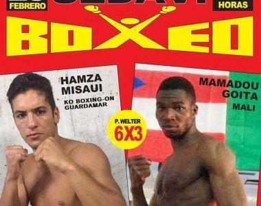 Dos combates profesionales mañana viernes en Sedaví