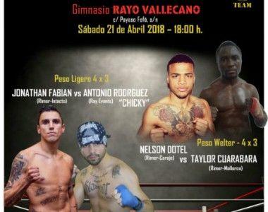 Este sábado velada de Rimer Box con tres combates en el  Rayo Vallecano