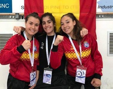 Hístóricas victorias de Marta López del Arbol y Miranda Reverón en el Europeo Jóven