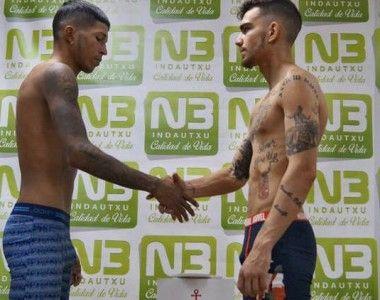 Jon Fernández y Juan Huertas preparados para el combate de mañana