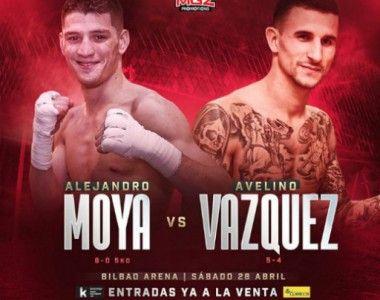 Alejandro Moya ya tiene rival para Bilbao, se enfrentará a Avelino Vázquez