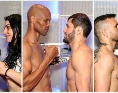 Boxeadores en el peso para la cita de hoy en Sedaví