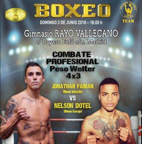 cartel BOXEO - RAYO VALLECANO - D3
