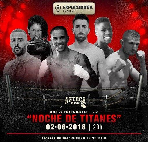 noche de titanes poster 2