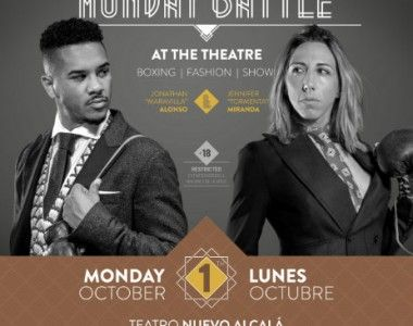 Jennifer Miranda y Jonathan Alonso el 1 de octubre en el Nuevo Teatro Alcalá