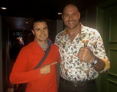 Aitor Nieto contra James Metcalf  en el retorno de Tyson Fury en Manchester