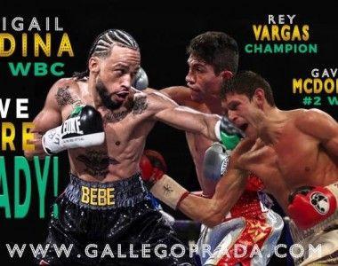 Abigail Medina a las puertas del mundial… Rey Vargas  o Gavin McDonell es lo próximo