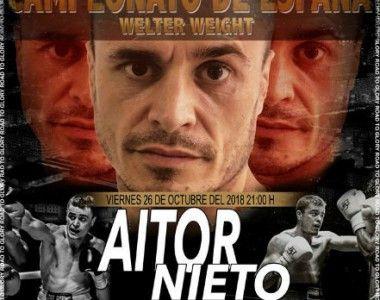 Aitor Nieto defenderá su título de España en Octubre