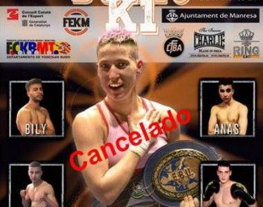 Cancelado el combate de Melania Sorroche en Manresa