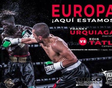 """Frank`La Ley´ Urquiaga: """"Mí estrategia es subir al ring, dar la mejor versión de mí y traerme el cinturón para casa"""""""