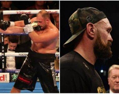 Fury venció a Pianeta y escenificó su futuro combate ante Wilder