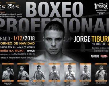 """Jorge """"Tiburón"""" Vallejo protagoniza el regreso del boxeo a Logroño"""