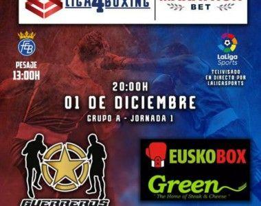 Liga4boxing Marathon Bet: a Coruña asiste al inicio de la competición