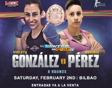 Davinia Pérez Vs Violeta González el 2 de febrero por el título de España