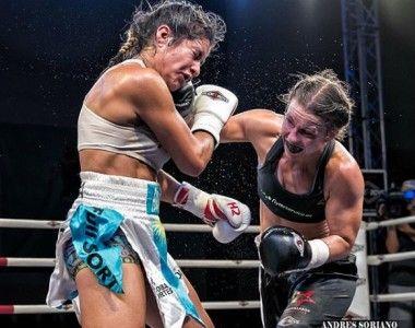 """Katharina  Thanderz: """"Confío en que llegará mi oportunidad mundial…no tengo prisa"""""""