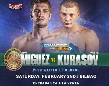 Jon Míguez disputará el Campeonato del Mundo Junior WBC el 2 de Febrero.