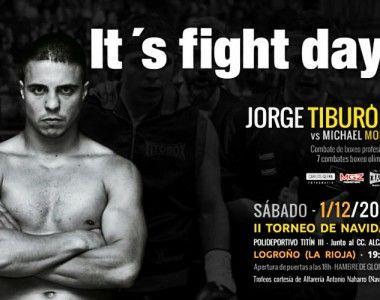 """Jorge Vallejo: """"Es un placer y un orgullo protagonizar el regreso del boxeo a Logroño"""""""