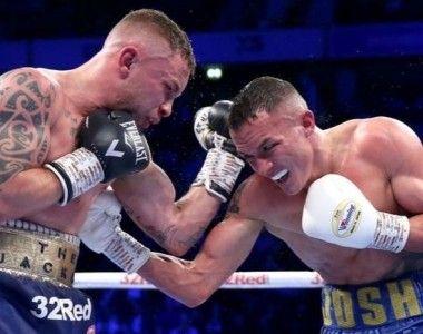 El boxeador revelación del año se llama Josh Warrington