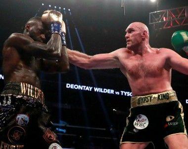 Deontay Wilder Vs Tyson Fury, polémico nulo y revancha millonaria a la vista