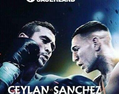 """Jesús Sánchez : """"A Ceylan no le gusta que le peguen, así que el sábado saldré a hacerle daño"""""""
