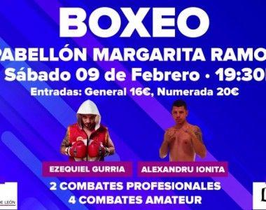 Ezequiel Gurría, Iago Barros y Alexandru Ionita este sábado en León