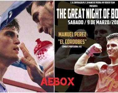 """Manuél Pérez`El Cordobés´: """"Un campeón no descansa… prepara su próxima victoria"""""""
