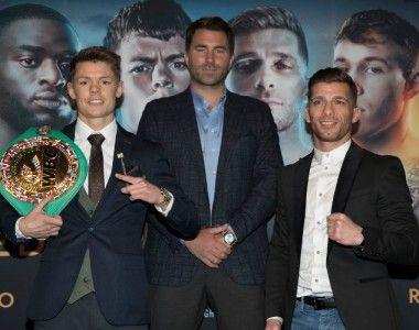 Ángel Moreno puede hacer historia en Londres con el Titulo Mundial WBC en juego.