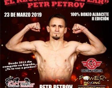 El Zar Petrov regresa el 23 de marzo en Albacete
