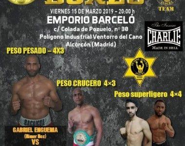 Este viernes tres combates profesionales en  Alcorcón