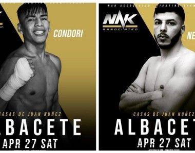 Este sábado el regreso de Abdessamad y el debut profesional de Condori en Albacete