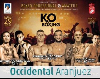 ¡El 29 de Junio segundo show de Boxeo  en Aranjuez!