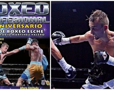 """Izan Durá """"La Roca"""" disputa en Elche su quinto combate profesional"""