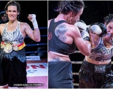Mary Romero se proclama  campeona de España del supergallo