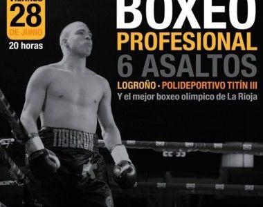 """Regresa Jorge """"Tiburón""""  Vallejo el 28 de junio en Logroño"""