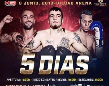 Menos de una semana para el regreso de Kerman Lejarraga en el Bilbao Arena