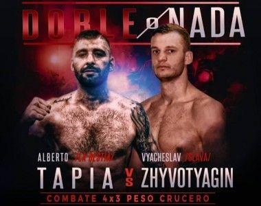 El invicto ucraniano Slava será el rival de Tapia este viernes en Oviedo