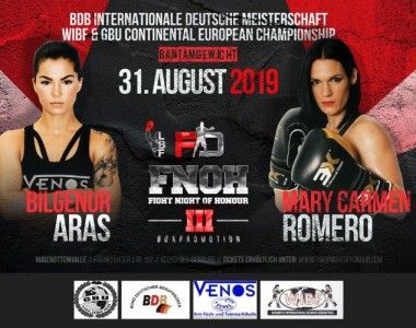 Mary Romero Vs Bilgenur Aras el 31 de agosto con título continental en juego