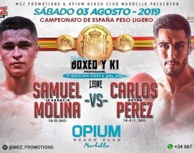 Samuel  Molina Vs Carlos Pérez…duelo andaluz para el Título de España