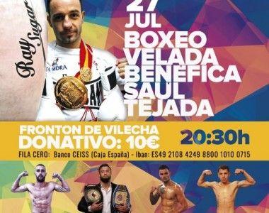 Esta noche velada benéfica para Saúl Tejada en León