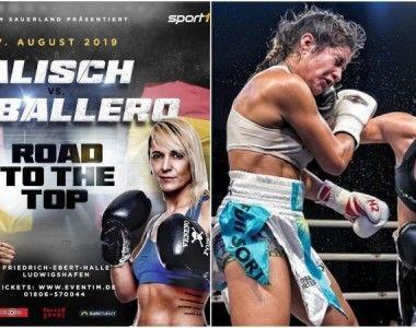 Katharina Thanderz y Vanesa Caballero también estarán en Alemania el 17 de agosto
