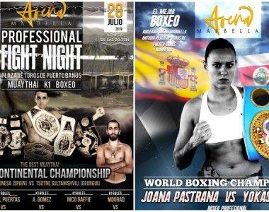 Vuelve el Boxeo a La Plaza De Toros de Puerto Banús Con Arena Marbella