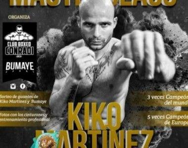 Masterclass de Kiko Martínez  el sábado 17 en Jaca